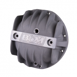 B&M Cast Aluminum Differential Cover for GM 8.875in 12 Bolt Car 70500