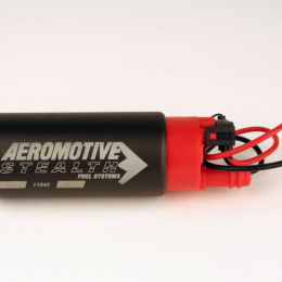 Aeromotive 340 Series Stealth In-Tank E85 Fuel Pump - Offset Inlet - Inlet Inline w/ Outlet 11542