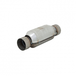 Flowmaster Universal Pre-OBDII Catalytic Converter SS - 3.0in In/Out 14.5in Length 58837