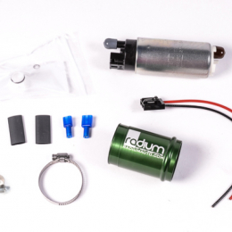 Radium Engineering 01-06 BMW E46 M3 to Walbro 255 Fuel Pump Install Kit (Pump Incl) 20-0082