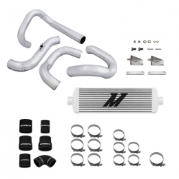 Mishimoto 10-12 Hyundai Genesis 2.0T Silver Race Intercooler & Piping Kit MMINT-GEN4-10RSL