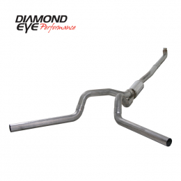Diamond Eye KIT 4in TB DUAL OFF-RD SS: 01-07.5 CHEVY/GMC 2500/3500 NFS W/ CARB EQUIV STDS K4116S