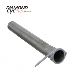 Diamond Eye STRTR PIPE 3-1/2in ALUMINZED FORD 03-07 CORS SS PART 165032 125032