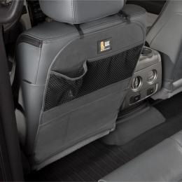 WeatherTech 18.5in w x 23.5in h Seat Back Protector - Black SBP003CH