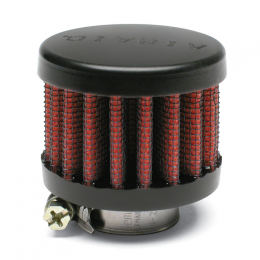 Airaid Rubber Top .75in ID - Clamp On 2in OD 1.5in Tall Breather Filter 770-136