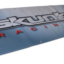 Skunk2 5 FT. Vinyl Shop Banner (Silver) 836-99-1442