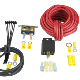 Aeromotive 30 Amp Fuel Pump Wiring Kit (Incl. Relay/Breaker/Wire/Connectors) 16301
