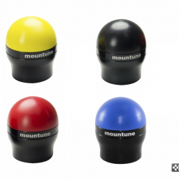 mountune Gear Knob (Black) 13-15 Ford Fiesta ST / Focus ST 2364-GK-AB