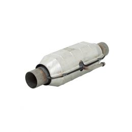 Flowmaster Universal Pre-OBDII Catalytic Converter SS - 2.25in In/Out 16.50in Length 58935