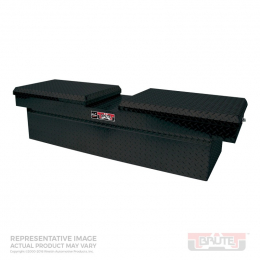 Westin/Brute Gull Wing Lid Mid Size / Down Size Long Bed Only - Black 80-RB134GW-B