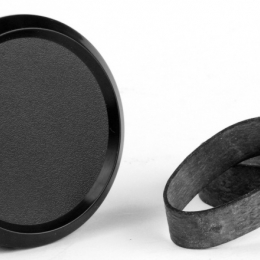 SMY 52mm Black Gauge Blanks SMYBLNK