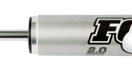 Fox 2.0 Performance Series 10.1in. Smooth Body IFP Steering Stabilizer (Alum) Std Travel - Blk 985-24-064
