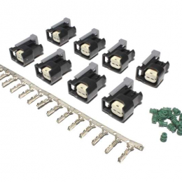 FAST Injector Conn.Kit-USCAR (8-Pack) 170600-8