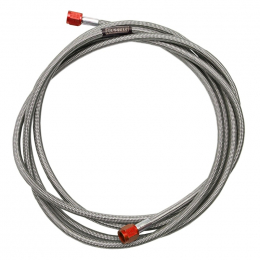 Russell Performance -3 AN x 1/8in NPT 12in Pre-Made Nitrous and Fuel Line 658060