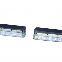 Hella 15 Deg 12V Daytime Running Light Kit 980860801