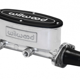 Wilwood High Volume Tandem Master Cylinder - 1 1/8in Bore Ball Burnished 260-8556-P