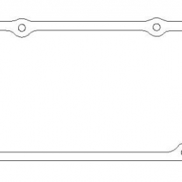 Cometic Ford SVO .094in KF Valve Cover Gasket C5659-094