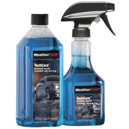 WeatherTech TechCare Interior Glass Cleaner with Anti-Fog Kit 18 oz. Bottle 8LTC45K