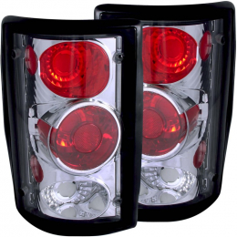 ANZO 2000-2005 Ford Excursion Taillights Chrome 211049