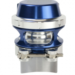 Turbosmart BOV Raceport - Universal for Supercharger - Blue (Does Not Work w/TiAL Flange) TS-0204-1106