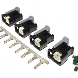 FAST Injector Conn.Kit-USCAR (4-Pack) 170600-4
