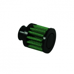 Green Filter Crankcase Filter - ID .375in. / Base 2in. / Top 2in. / H 1.57in. 2079