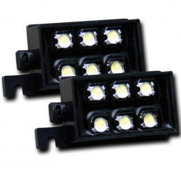 ANZO Bed Rail Lights Universal LED Bed Rail Auxiliary Lighting 531049
