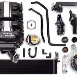 Edelbrock Supercharger Stage 3 - Profesional Tuner Kit 2005-2009 Ford Mustang 4 6L 3V w/ o Tuner 1585