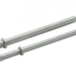 Vibrant OE-Style Exhaust Hanger Rods 3/8in Dia x 9in Long 11898