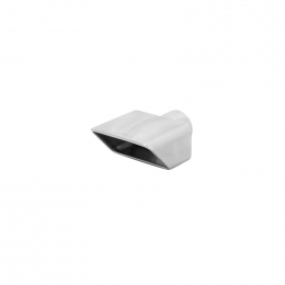 Flowmaster Exhaust Tip - 2.50 In. Polished Angle Rolled Edge 15354
