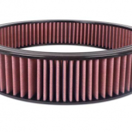 Airaid Universal Air Filter - 16in OD x 14in ID 3in H Synthaflow Red 800-403