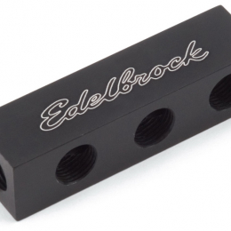 Edelbrock Distribution Block 1/8In NPT 1 In 6 Out 76576
