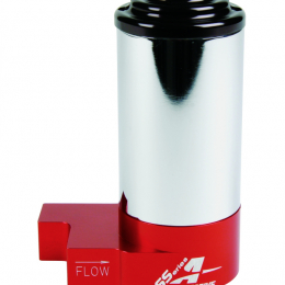 Aeromotive SS Series Billet (14 PSI) Carbureted Fuel Pump w/ AN-8 Inlet and Outlet Ports 11213