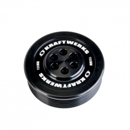 KraftWerks Supercharger Pulley - 100mm 7 Rib 159-99-1007