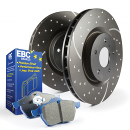 S6 Kits Bluestuff and GD Rotors S6KF1139
