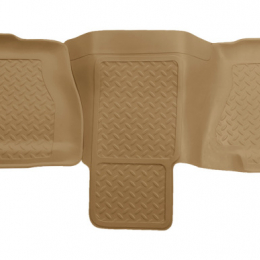 Husky Liners 01-06 Chevy Suburban/Yukon XL/Denali XL Classic Style 2nd Row Tan Floor Liners 62753