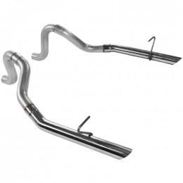 Flowmaster 86-93 Mustang Gt/Lx 5.0L Prebent Tailpipes 409S - 2.50 In. Rear Exit (Pair) 815814
