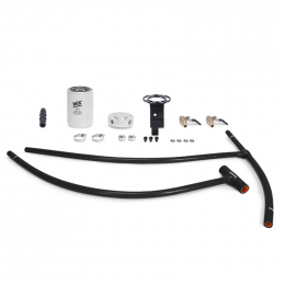 Mishimoto 03-07 Ford 6.0L Powerstroke Coolant Filtration Kit - Black MMCFK-F2D-03BK