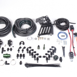 Radium Engineering 2011+ Ford Focus EcoBoost Port Injection FST Install Kit - Green DMR 20-0366-01