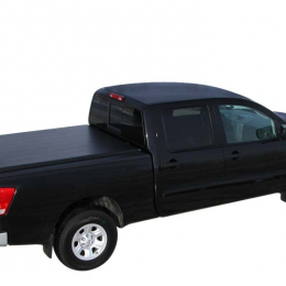 Access Limited 17-19 NIssan Titan 5-1/2ft Bed (Clamps On w/ or w/o Utili-Track) Roll-Up Cover 23229