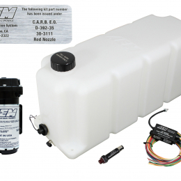 AEM 50 State Water Injection Kit for Turbo Diesel Engines (Later Model Chevy/Dodge/Ford) 30-3111