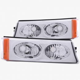 ANZO 2003-2006 Chevrolet Silverado 1500 Euro Parking Lights Crystal 511035