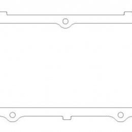 Cometic Ford 460 Big Block .125in KF Valve Cover Gasket Set C5205-125