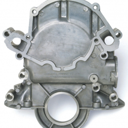 Edelbrock Timing Cover Alum S/B Ford 65-78 289 (Non K-Code) and 302 69-87 351W w/ Timing Marker 4250