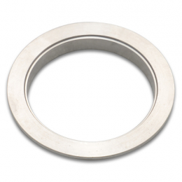 Vibrant Stainless Steel V-Band Flange for 2.5in O.D. Tubing - Female 1490F