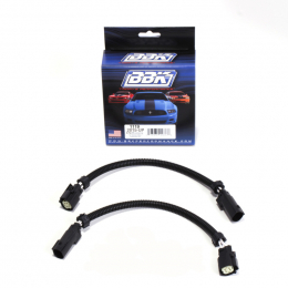 BBK 2015 Mustang GT V6 6-Pin Front O2 Sensor Wire Harness Extensions 12 (pair) 1119