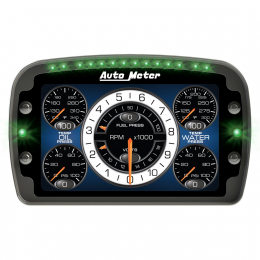 Autometer Racing Instrument Display Color LCD Including Shift and Alarm Lights Datalogging CD7 6021