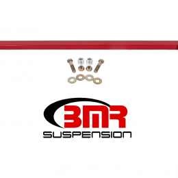 BMR 15-17 S550 Mustang Front 2-Point Subframe Chassis Brace - Red CB007R