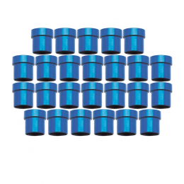 Russell Performance -8 AN Tube Sleeve 1/2in dia. (Blue) (25 pcs.) 660668