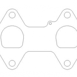 Cometic Ford 4.6L/5.4L 3V Head D-Ports .030in MLS Exhaust Gasket Set C5997-030